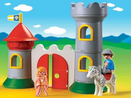 Playmobil 1.2.3 My First Knight'S Castle front-508985