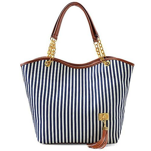 Hunnt Tobey New Fashion Stripe Design Women Street