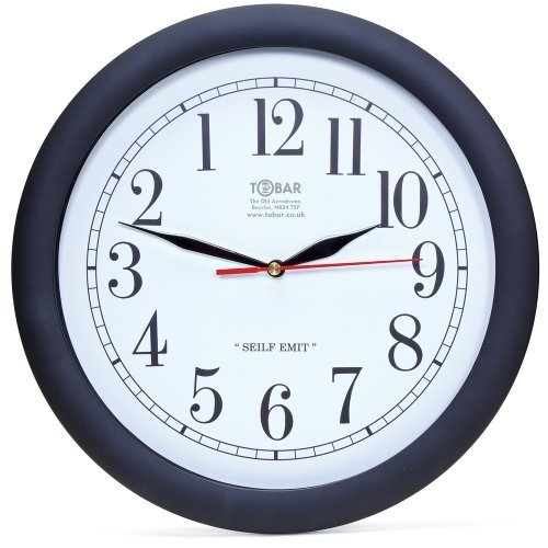 Backwards Clock by Tobar