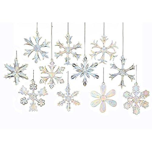 Kurt Adler Snowflakes