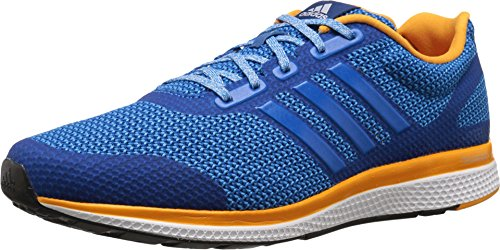 Adidas Performance Men's Mana Bounce Running Shoe,Equipment Blue/White/Shock Blue,11 M US