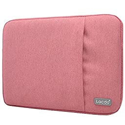 Lacdo 13-13.3 Inch Waterproof Fabric Laptop Sleeve Case Bag Notebook Bag Case for Apple MacBook Pro 13.3-inch Retina Display, Macbook Air 13\