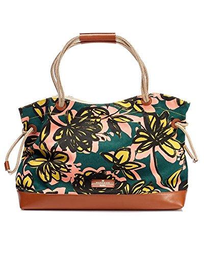 max-mara-weekend-womens-umberta-canvas-tote-green-multi-print-beach-bag-green-multi-n-s