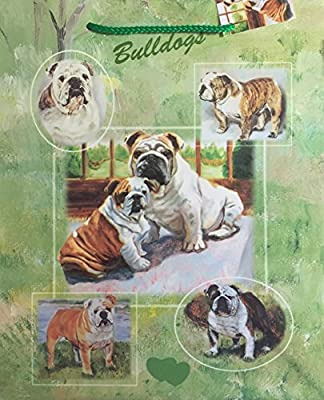 Dog Breed Gift Bags Set of Two with Tissue Paper