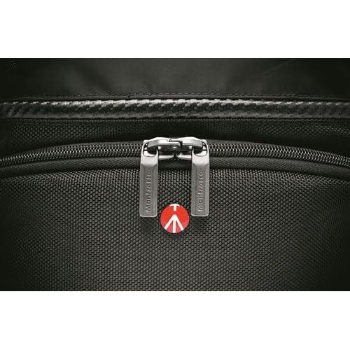 manfrotto カメラリュック advancedコレクション MAアクティブバックパック1CA 9.4L レインカバー付属 三脚取付け可 PCスペース有 ブラック MB MA-BP-A1CA
