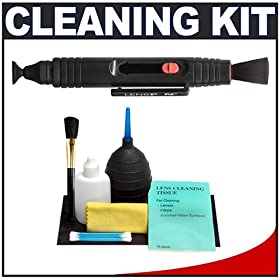 LensPEN + Precision Design Cleaning Kit - for Digital SLR Cameras & Lenses - including Canon Rebel XSi, XS, T1i, XTi, 40D, 50D, Nikon D40, D60, D5000, D90, D300, D700, Olympus Evolt E-30, E-450, E-520, E-620, and Sony Alpha A200, A300, A350, A700 Digital SLR Cameras