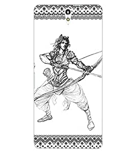 ColourCraft Karna Design Back Case Cover for SONY XPERIA C5 ULTRA