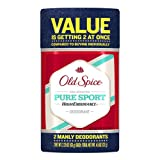 Old Spice High Endurance Pure Sport Scent Deodorant Twin Pack 4.5 Oz