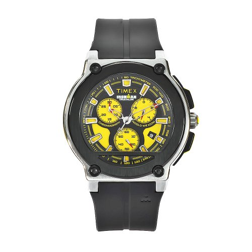 Timex - T5K350SU - Ironman - Analogue Quartz - Chronograph - Black Resin Strap
