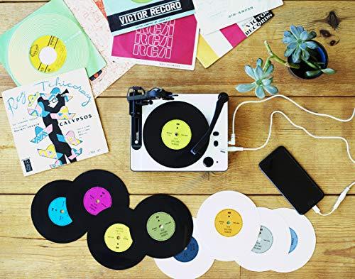 スマホの音源からオリジナル5インチレコードをカッティングできる「大人の科学マガジン トイ・レコードメーカー」(レコード10枚+針2本)
