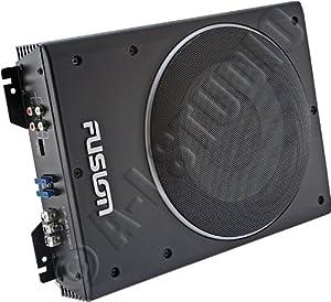 fusion cp as1080 caisson de basse actif slim 600 w 20 cm noir gps auto. Black Bedroom Furniture Sets. Home Design Ideas