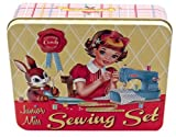 Kitsch Sewing Kit in a Vintage Inspired Tin Cotton Candy Range by Wu and Wu