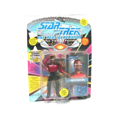Star Trek - Next Generation (Playmates) Lieutenant (JG) Geordi LaForge (TNG First Season Uniform)