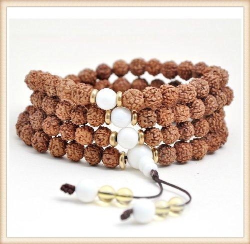 The Art of CureTM  Healing Jewelry & Mala Meditation Beads Healing Rudraksha Beads