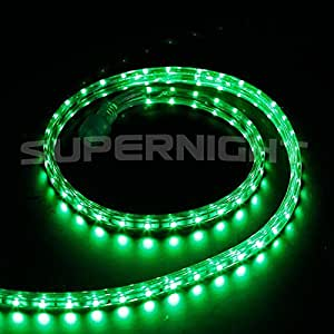 BINZET 3528 110V 120V 1M 60leds Green LED Rope Light Kit An