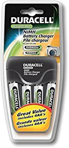 Battery-Biz Inc. Duracell Value AA/AAA Charger with 4 AA