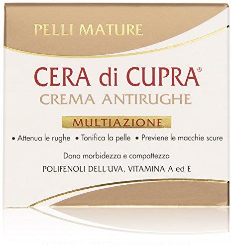 Cera di Cupra - Crema antirughe, Multiazione - 50 ml (Pacco da 2)