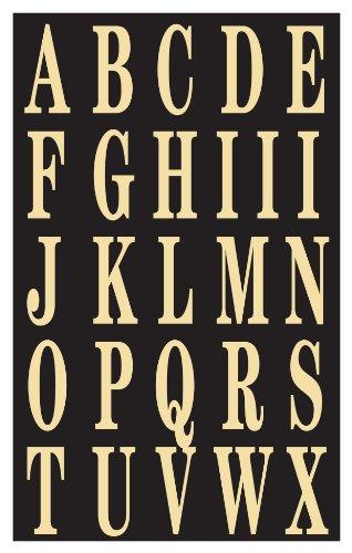 """Hy-Ko MM-3L Self-Stick Letters, 2"""""""