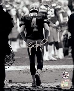 Brett Favre Autographed Hand Signed Green Bay Packers 16x20 Photo B&W Tunnel-... by Hall of Fame Memorabilia