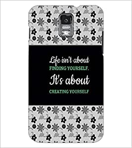 PrintDhaba Quote D-4668 Back Case Cover for SAMSUNG GALAXY S5 (Multi-Coloured)