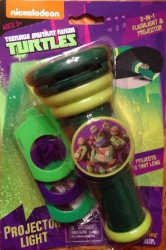 Teenage Mutant Ninja Turtles Flashlight Projector Light