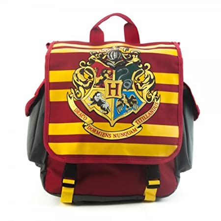 Harry Potter HOGWARTS Hybrid Red Messenger BACKPACK