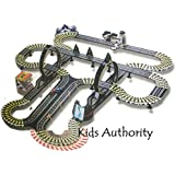 Kids Authority Life Like Mega Track set , Slot car racing set - 40 ft of track
