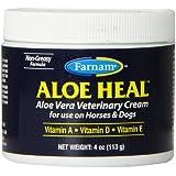 FARNAM 45404 Aloe Vera Veterinary Pet Ointment, 4-Ounce
