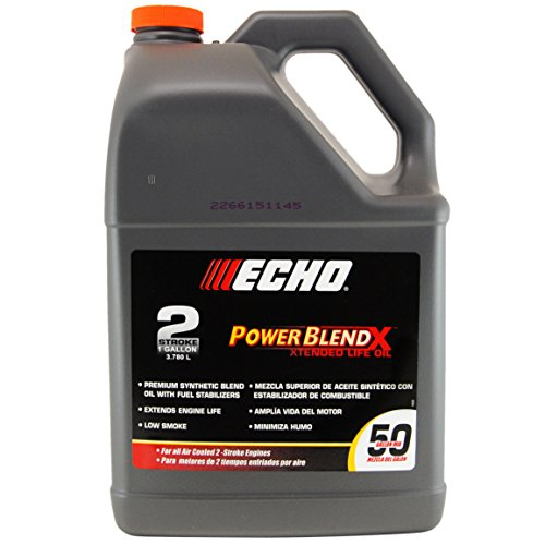 Echo 6450050 one gallon bottle of power blend 2 cycle 50 1 for How often to change synthetic blend motor oil