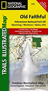 TI Map #302- Yellowstone Southwest/Old Faithful