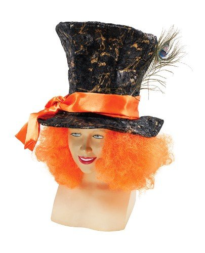 Alice In Wonderland-Mad Hatter-Costume da& accessori per capelli