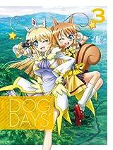 第3期アニメ制作が決定したアニメ「DOG DAYS´」BD/DVD第3巻