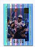 Hank Aaron - 2002 Topps Tribute #1