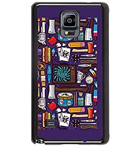 Printvisa Assorted Pattern Back Case Cover for Samsung Galaxy Note 4 N910::Samsung Galaxy Note 4 Duos N9100