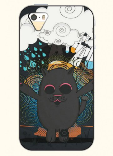 Oofit Phone Case Design With Cat'S Paradise For Apple Iphone 5 5S 5G