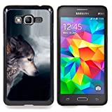 img - for For Samsung Galaxy Grand Prime G530H G5308 - Wolf Waterfull Indian Wild Animal Forest Case Cover Protection Design Ultra Slim Snap on Hard Plastic - God Garden - book / textbook / text book