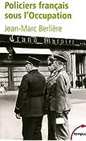 Policiers français sous l'Occupation