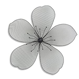 Large Modern Metal Flower Head Wall Art Feature for the Home or Garden from Home33 Accessories