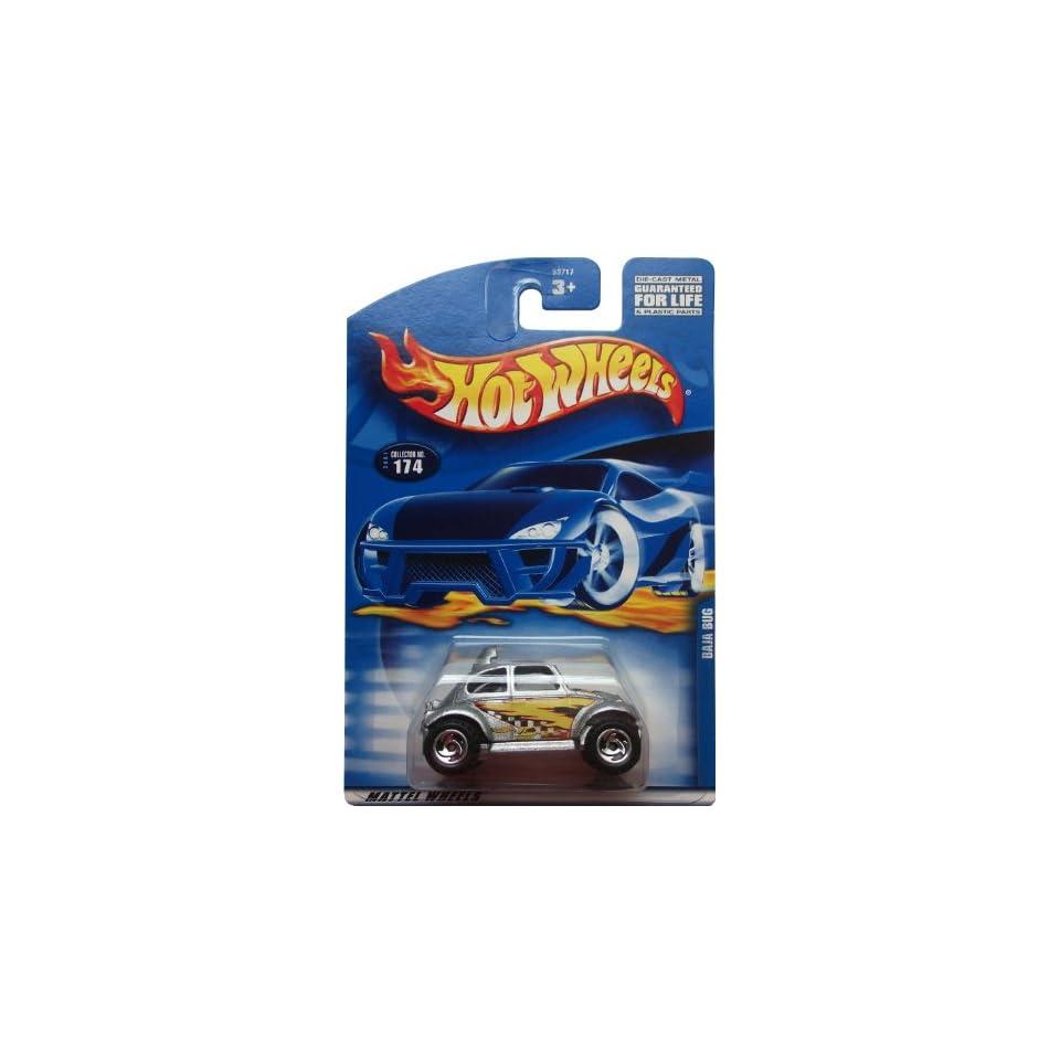#2001 174 Baja Bug Painted base Collectible Collector Car Mattel Hot Wheels