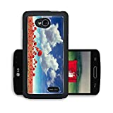 Nature Flowers Fields Outdoors Poppies LG Optimus L70 Dual D325 Snap Cover Premium Aluminium Design Back Plate Case Open Ports Customized Made to Order Support Ready 5 2/16 Inch (130mm) X 2 12/16 Inch (70mm) X 11/16 Inch (17mm) MSD L70 Professional Cases Accessories Graphic Covers Designed Model Cases Plastic Luxury Protector Cellphone Wireless Cell phone