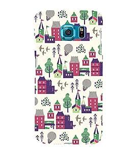 City Tree Greenery 3D Hard Polycarbonate Designer Back Case Cover for Samsung Galaxy S6 Edge :: Samsung Galaxy Edge G925
