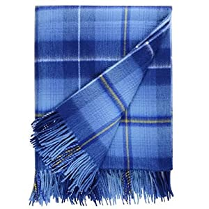 100% Cashmere Original Ryder Cup 2014 Tartan Blanket / Throw - Made in Scotland by Lochcarron