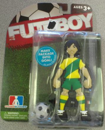 Futeboy Yellow/Green Jersey, Brunette - 1