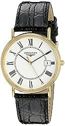 Longines Men's LNG47202112 La Grande Classique Presence White Dial Watch
