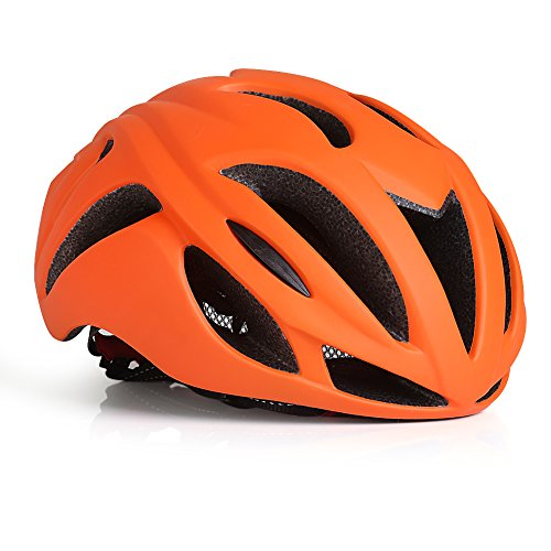 Gonex Wind Mask Bike Helmet for Adult, Holland Orange ...