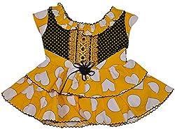 Be BeBo Girl's Cotton Dress (915_3, Pink, 3 Year )