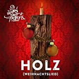257ers  Holz-Weihnachtslied