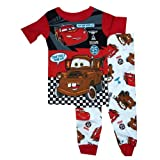 Disney Pixar Cars Boys 2 Piece Cotton Pants Pajama Set