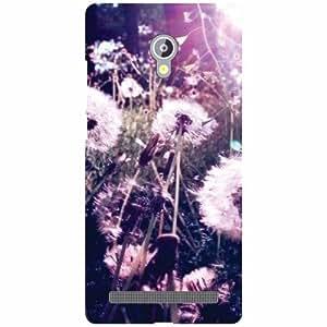 Asus Zenfone 6 A601CG Back Cover - White Flowers Designer Cases
