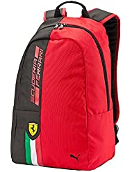 Puma 17 Ltrs Rosso Corsa And Black Casual Backpack (7427301)